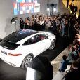 """""""Illustration - Présentation de la nouvelle Jaguar E-PACE au studio des Acacias à Paris, le 10 octobre 2017. © Veeren/Bestimage"""""""