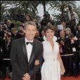 Antoine de Caunes et sa fille Emma de Caunes au Festival de Cannes en 2008