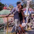 Alia et Ali plus amoureux que jamais. Ils ne cessent de voyager ensemble. Ici ils étaient à Cuba. Octobre 2017.