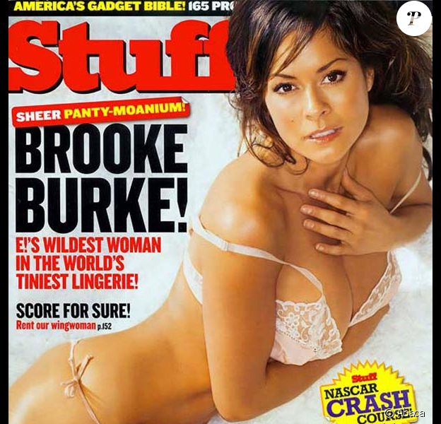 La très sensuelle Brooke Burke
