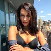 Bella Hadid : Craquante en lingerie, à quelques semaines d'un défilé sexy