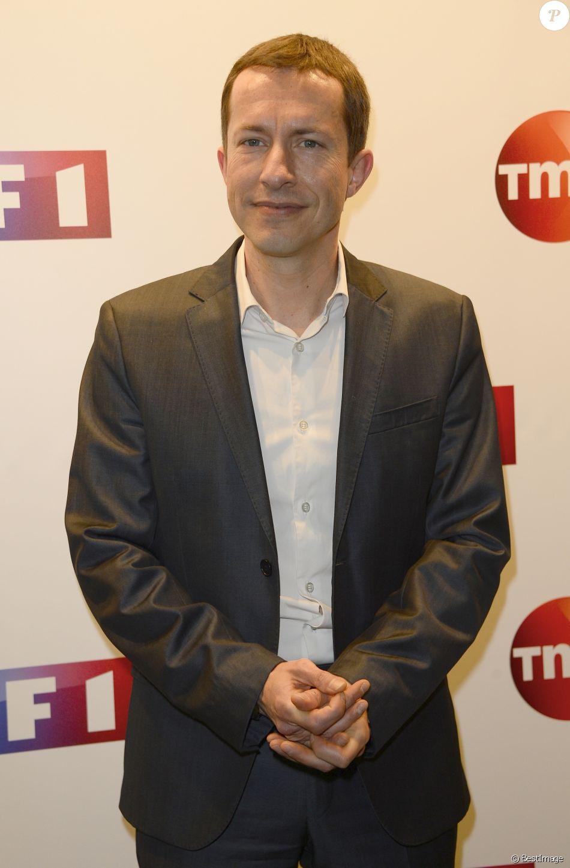 Grégoire Margotton - Conférence de presse de TF1 pour le lancement de l'Euro 2016 à Paris le 17 mai 2016. © Coadic Guirec/Bestimage
