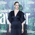 "Bar Refaeli, enceinte, lors des ""Conde Nast Traveler Awards"" à l'hôtel Ritz à Madrid, le 4 mai 2017. © Jack Abuin via Zuma Press/Bestimage"