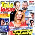 Magazine Télé-Loisirs en kiosques le 23 octobre 2017.