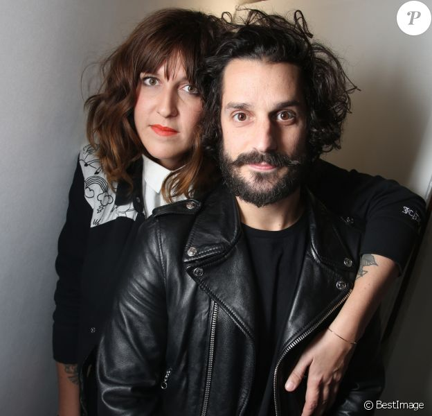 Daphné Bürki et son compagnon Gunther Love - Soirée de vernissage de la FIAC 2014 organisée par ORANGE au Grand Palais à Paris, le 22 octobre 2014.