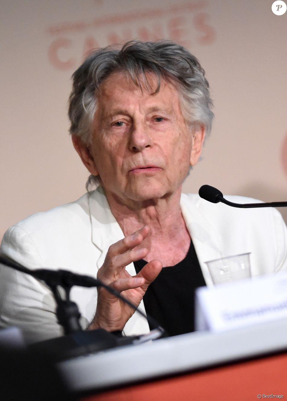 """Roman Polanski lors de la conférence de presse pour le film """"D'après une histoire vraie"""" lors du 70e Festival International du Film de Cannes. Le 27 mai 2017 © Borde-Jacovides-Moreau / Bestimage"""