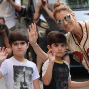 """Céline Dion célèbre les 7 ans de ses """"amours"""", ses jumeaux Nelson et Eddy"""