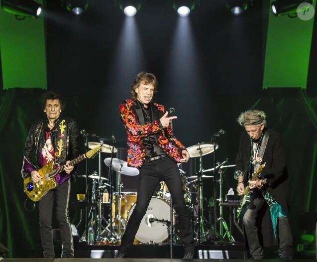 """Mick Jagger - Dernier concert des Rolling Stones à l'U Arena de Nanterre dans le cadre de leur tournée """"Stones - No Filters"""". Le 25 octobre 2017. © Danyellah P. / Bestimage R"""