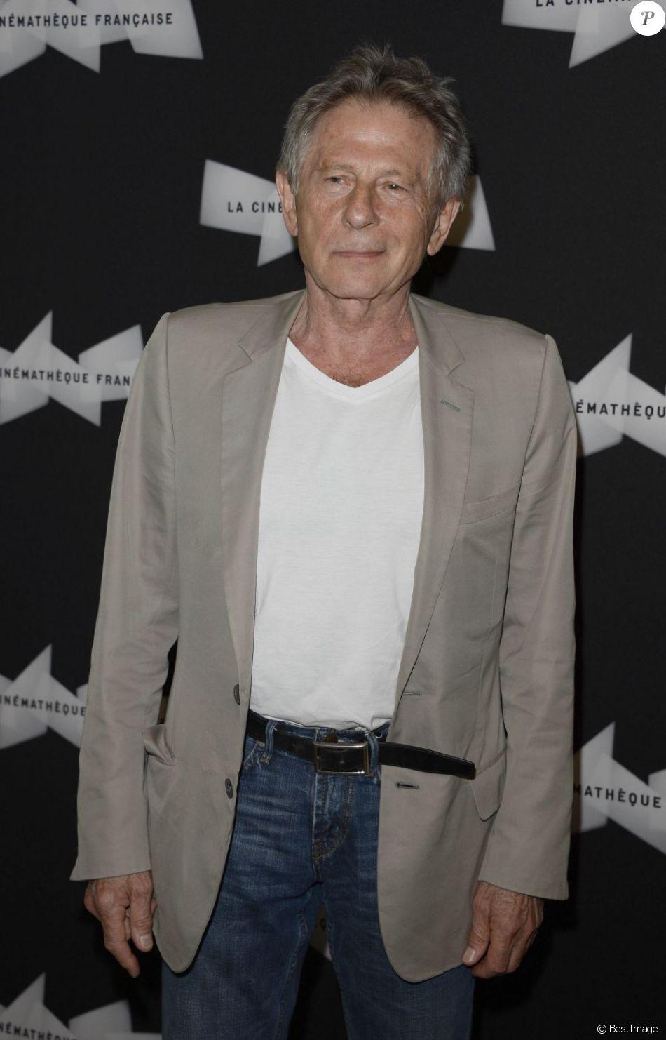 Roman Polanski à la Cinémathèque Française à Paris le 16 juillet 2013.