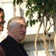 Exclusif - Robert de Niro et sa femme Grace Hightower - Global Citizen Forum 2017 à Sveti Stefan au Montenegro le 20 octobre 2017. © Didier Audebert/ LMS/ Bestimage