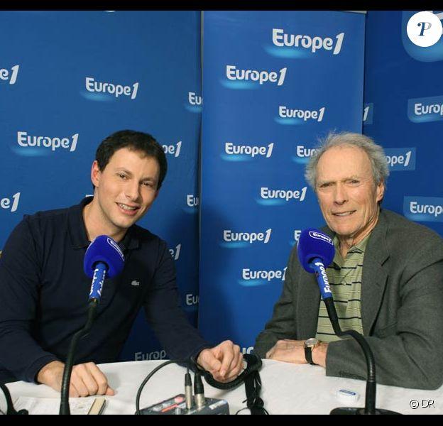 Clint Eastwood et Marc-Olivier Fogiel