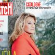 """""""Sheila en couverture de Paris Match, en kiosques le 2 novembre 2017."""""""