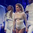 """Lady Gaga en concert au Rogers Arena à Vancouver à l'occasion de sa tournée mondiale """"Joanne"""", le 1er août 2017."""