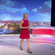 """""""Anne-Sophie Lapix lors de la première présentation de son Journal Télévisé sur France 2, le 4 septembre 2017."""""""