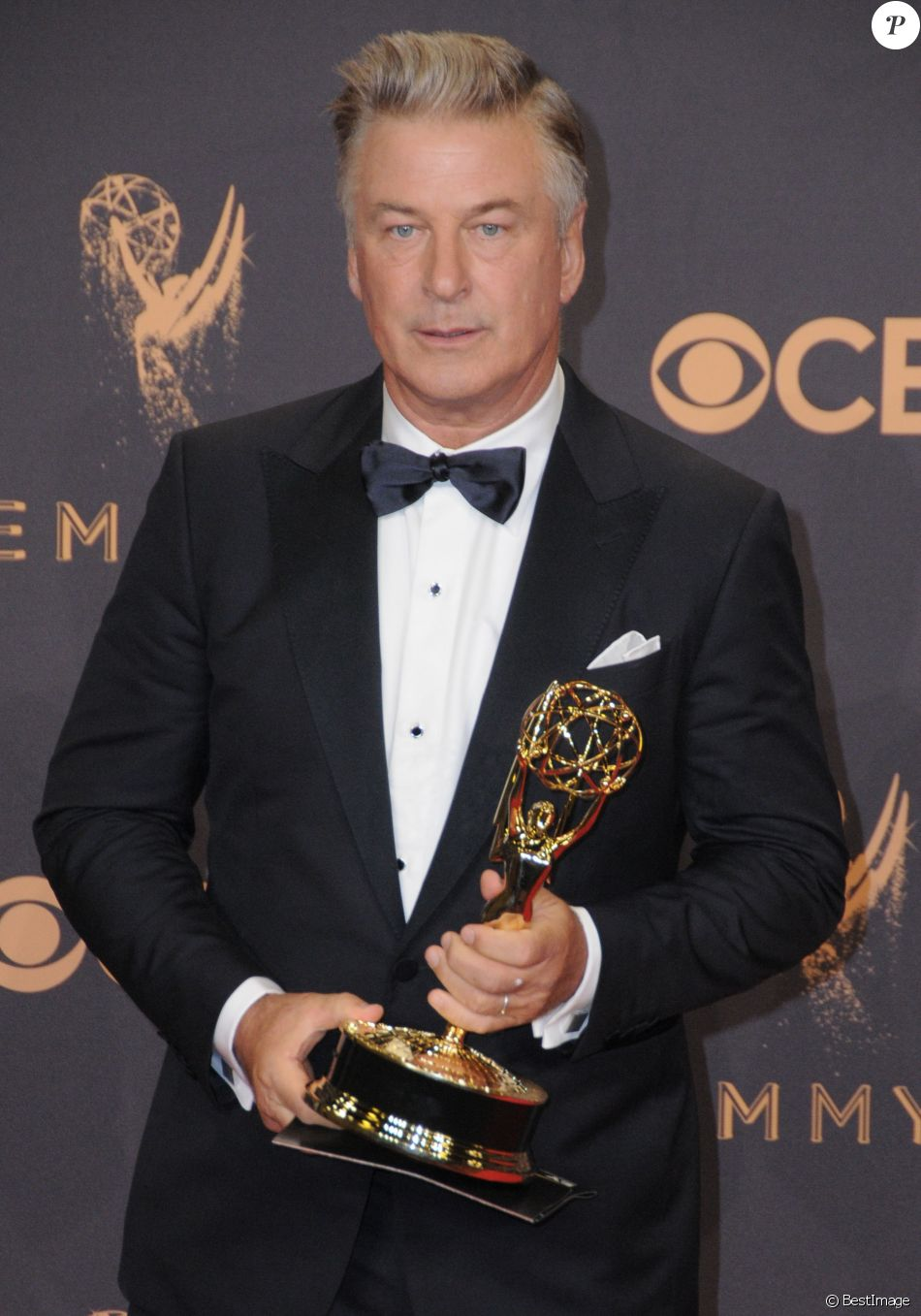 Alec Baldwin au photocall de la 69ème édition des Emmy Awards au théâtre Microsoft à Los Angeles le 17 septembre 2017.