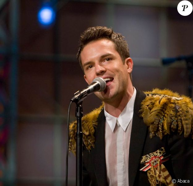 Brandon Flowers, chanteur de The Killers