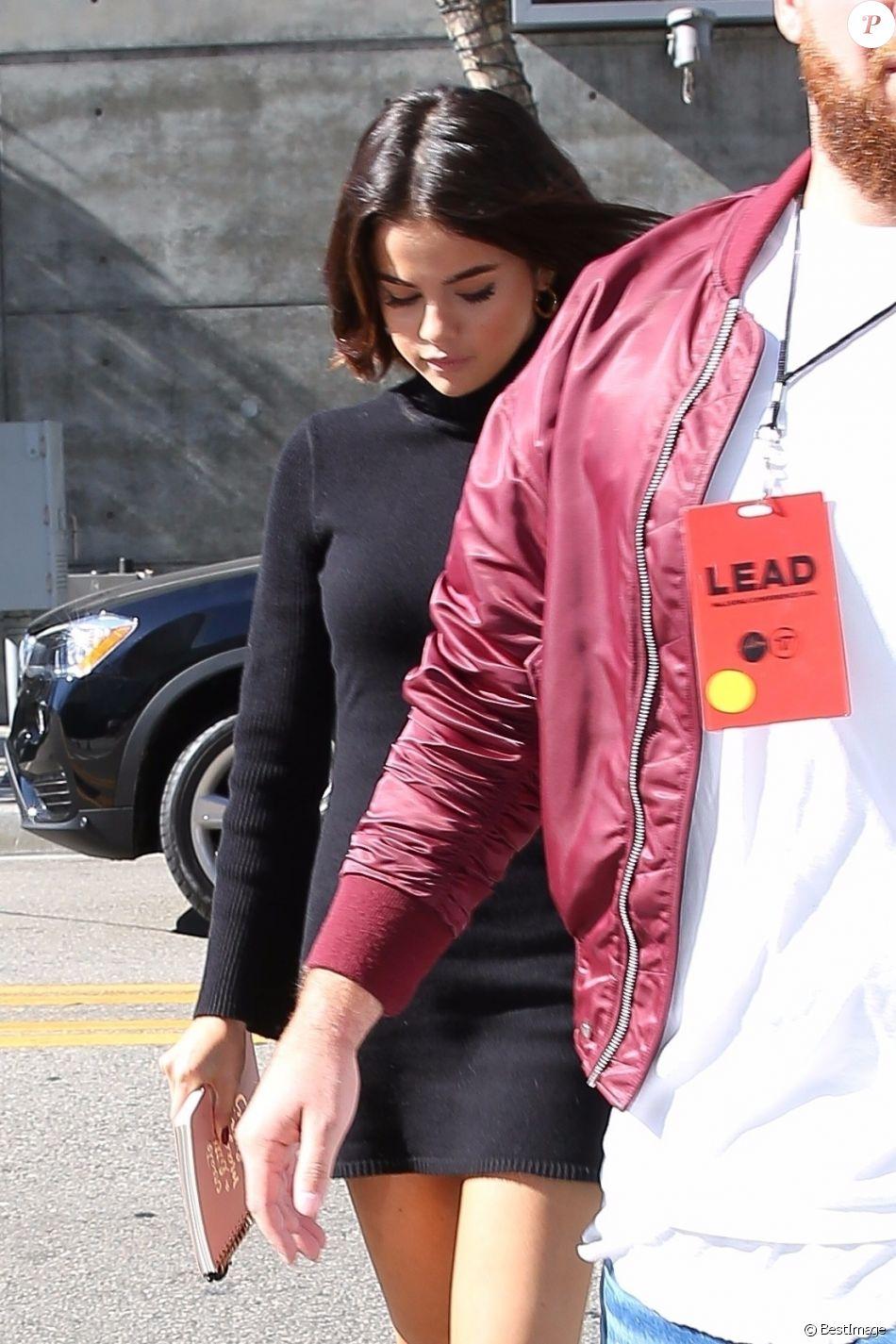 Selena Gomez et Justin Bieber sont allés à la messe à l'église Hillsong dans le quartier de Downtown à Los Angeles, le 4 novembre 2017