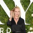 """Uma Thurman lors de la 71e cérémonie annuelle des Tony Awards 2017 au Radio City Music Hall à New York, le 11 juin 2017."""