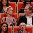"""Uma Thurman et Harvey Weinstein à Lyon le 18 Octobre 2013"""