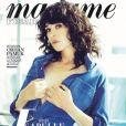 Isabelle Adjani en couverture de Madame Figaro, numéro des 3 et 4 novembre 2017.