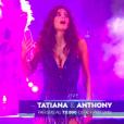 Tatiana Silva dans DALS8, le 11 novembre 2017 sur TF1.