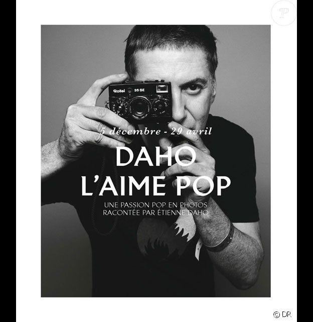 Daho l'aime pop - Exposition à la Philarmonie de Paris, du 5 décembre au 29 avril 2018.