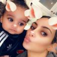"""""""Kim Kardashian célèbre le 1er anniversaire de Dream, fille de Rob et Blac Chyna. Los Anglees le 10 novembre 2017."""""""