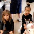 """""""Penelope Disick et North West au 1er anniversaire de Dream Kardashian, fille de Rob et Blac Chyna, à Los Anglees le 10 novembre 2017."""""""