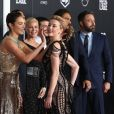Gal Gadot, Connie Nielsen, Amber Heard à la première de 'Justice League' au théâtre Dolby à Hollywood, le 13 novembre 2017  Stars on the red carpet of the premiere of Warner Bros. Pictures' 'Justice League' at Dolby Theatre in Hollywood, California. 13th november 201713/11/2017 - Los Angeles