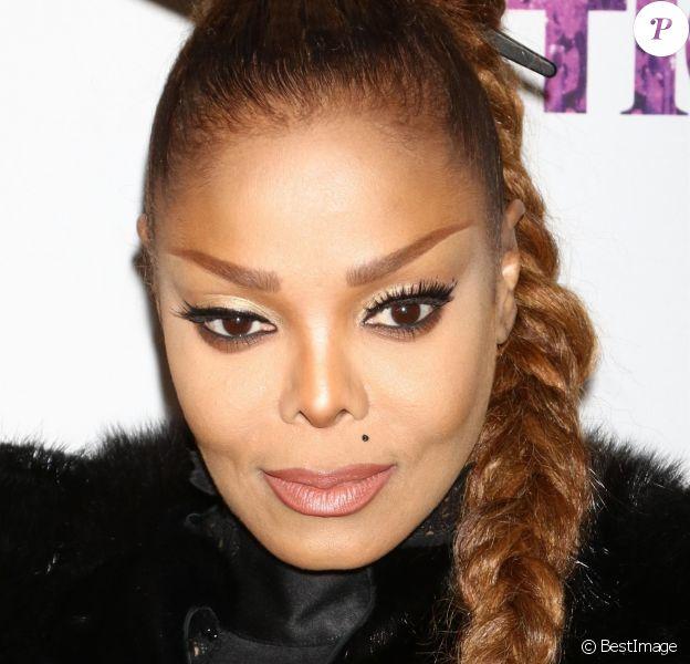 Janet Jackson à la soirée OUT100 à New York, le 9 novembre 2017.