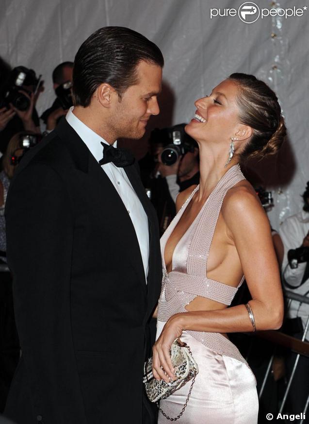 Gisele Bündchen et Tom Brady, amoureux comme au premier jour lors d'un gala new-yorkais en mai 2008.