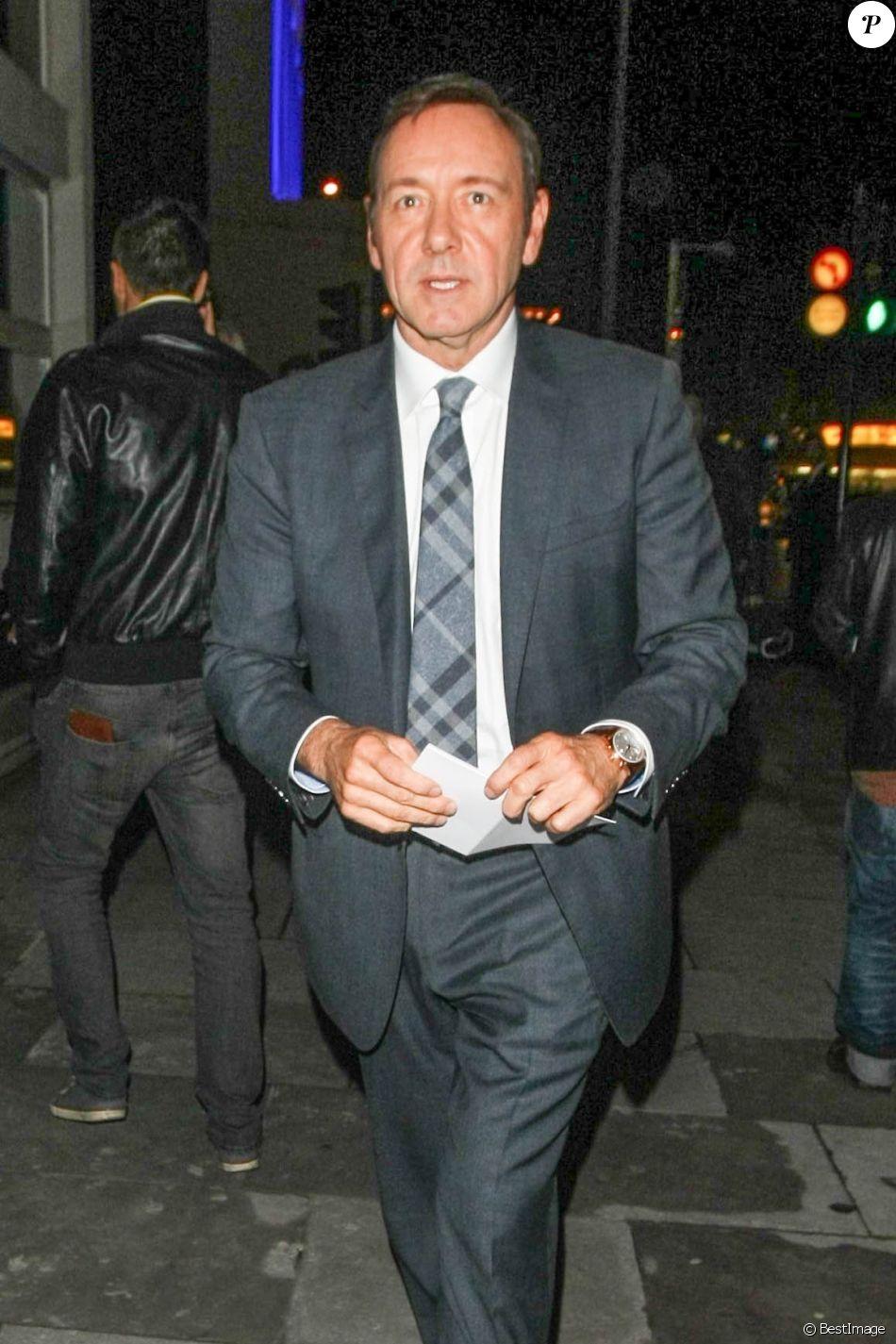 """Kevin Spacey à la soirée """"Beaucoup de bruit pour rien"""" à Londres, le 19 septembre 2013, au Old Vic Theatre"""