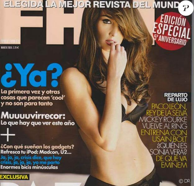 Paz Vega, chic et torride pour FHM