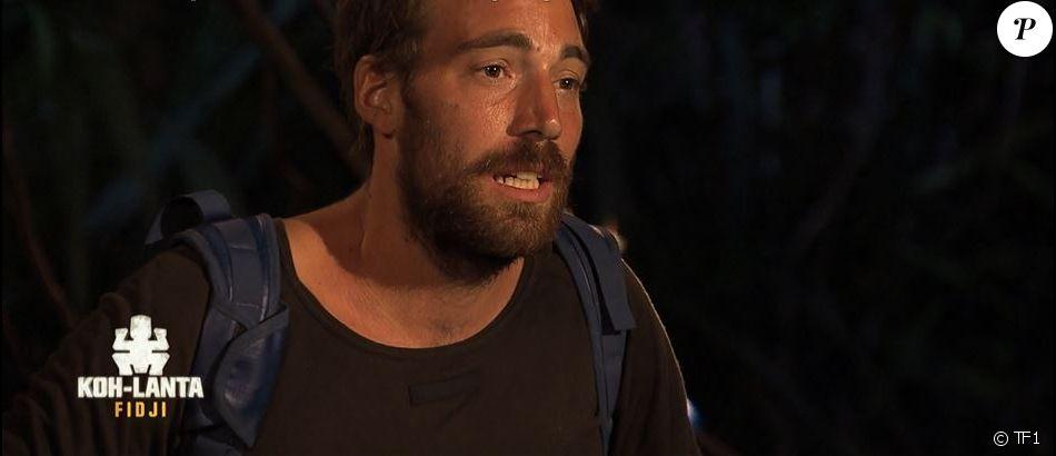 """Romain dans """"Koh-Lanta Fidji"""" (TF1), vendredi 24 novembre 2017."""
