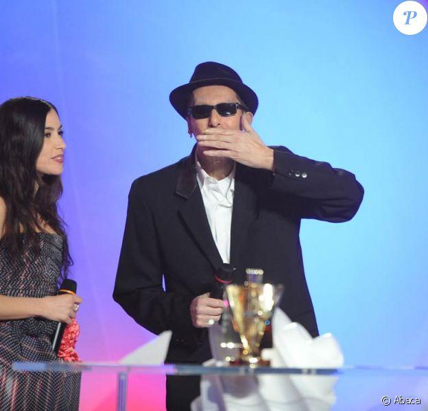 24e cérémonie des Victoires de la Musique : Olivia Ruiz et Alain Bashung