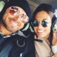 Kellan Lutz et sa fiancée Brittany Gonzales sur une photo publiée sur Instagram le 10 août 2017