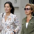 Exclusif - Ana Ivanovic se promène avec une amie à New York, le 24 août 2017.  No Web No Blog - Belgique et Suisse Exclusive - Germany call for price - Ana Ivanovic and a friend are out in New York. August 24th, 2017.24/08/2017 - New York
