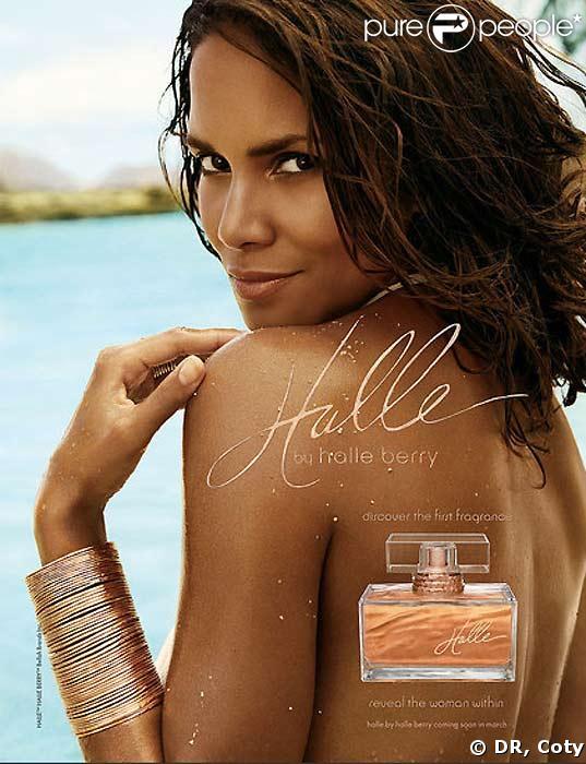 Halle, le nouveau parfum de Halle Berry !