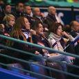 Amélie Mauresmo - People lors du 4e match de la Finale de la coupe Davis en simple opposant la France à la Belgique remporté par D.Goffin (7-6 [5], 6-3, 6-2) au Stade Pierre Mauroy à Lille, le 26 novembre 2017. © Perusseau-Veeren/Bestimag