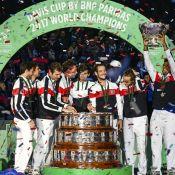 Coupe Davis : Noah, Pouille et la France triomphent devant leurs proches