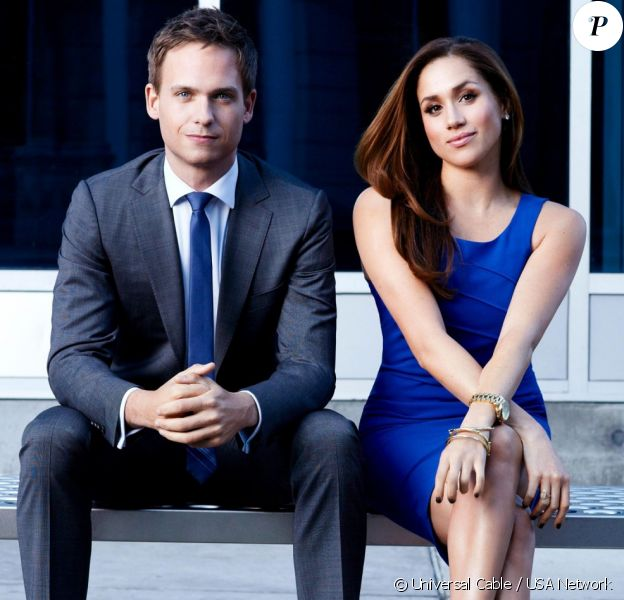 Meghan Markle et Patrick J. Adams ont incarné pendant sept saisons Rachel Zane et Mike Ross dans Suits, deux protagonistes qui finissent par se marier.