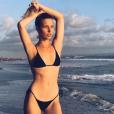Ilona Smet en vacances en Indonésie le 4 juillet 2017