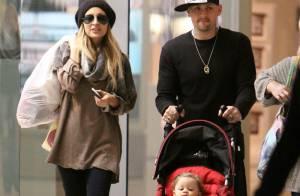 Nicole Richie : une femme heureuse... un compagnon, une adorable petite fille et un bébé à venir !