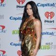 """Demi Lovato - Concert """"KIIS-FM Jingle Ball"""" au Forum, à Inglewood. Los Angeles, le 1er décembre 2017."""