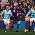 Lionel Messi lors du match FC Barcelone - Celta Vigo. Barcelone, le 2 décembre 2017.