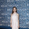 Lily Collins à la 6ème cérémonie Breakthrough Prize au NASA Ames Research Center à Mountain View, le 3 décembre 2017