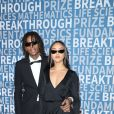 Wiz Khalifa et sa compagne Izabela Guedes à la 6ème cérémonie Breakthrough Prize au NASA Ames Research Center à Mountain View, le 3 décembre 2017