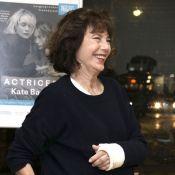 Jane Birkin : Blessée mais lumineuse pour l'hommage à sa fille Kate Barry