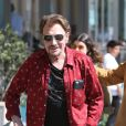 Johnny Hallyday à Santa Monica, le 1er avril 2017.