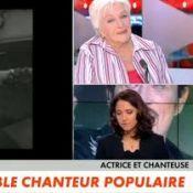 "Mort de Johnny Hallyday : Line Renaud craque en direct et pleure son ""fils"""